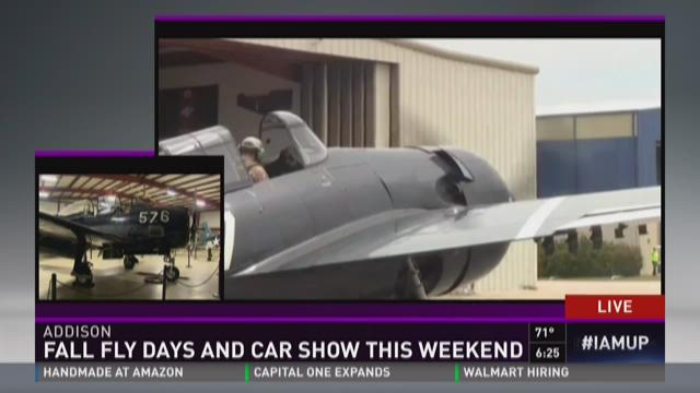 Sneak Peek: Fall Fly Days and Car Show this weekend