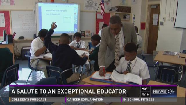 Salute to an Exceptional Educator: Isaac Tate