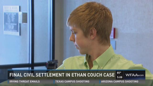 Final civil settlement in Ethan Couch case