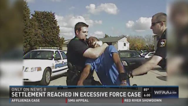 Settlement reached in excessive force case