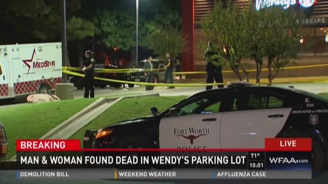 Two found dead in Wendy's parking lot