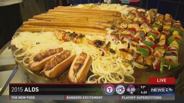 Texas Rangers introduce new food for playoffs