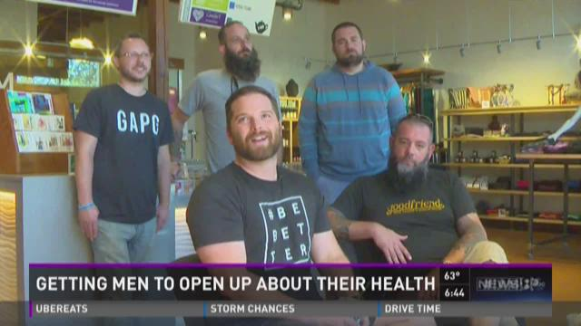 Talking to men about health issues