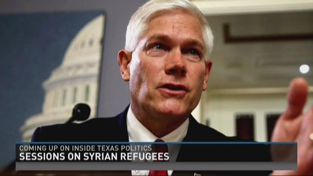 Rep. Pete Sessions is the featured guest this week.