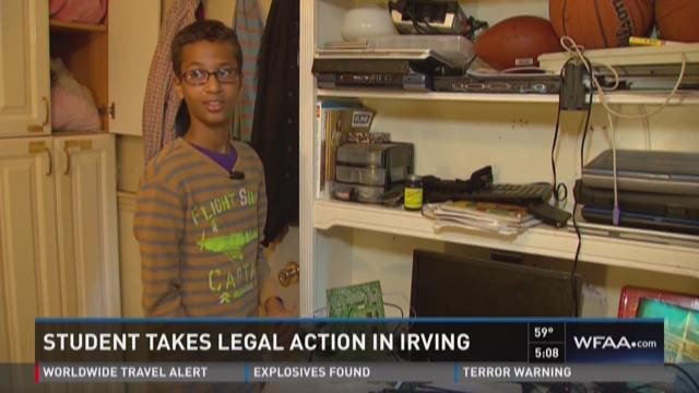 'Clock boy' Ahmed Mohamed seeks $15 million in damages