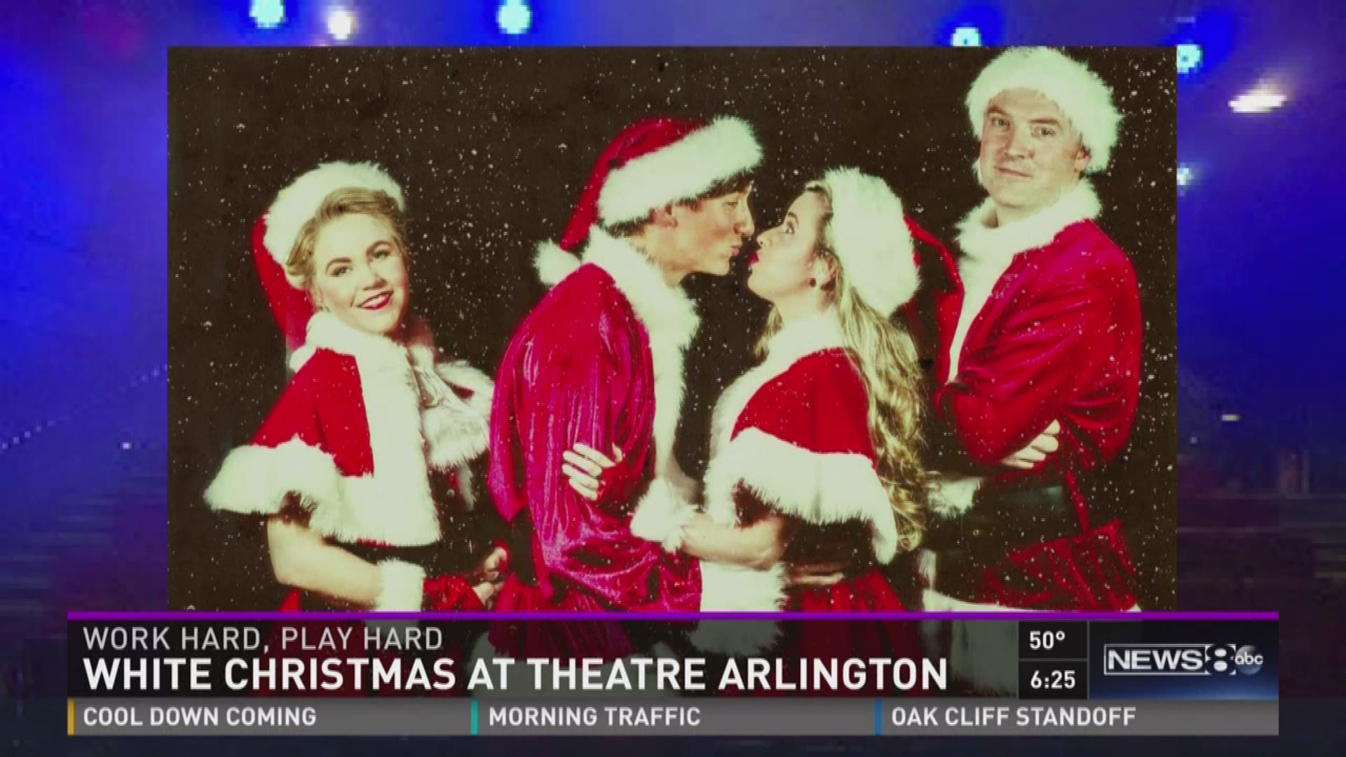 work hard play hard white christmas actors lead double lives - White Christmas Play