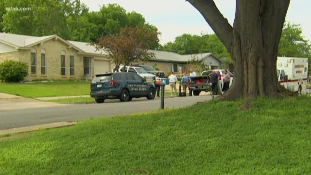 Man killed by police, woman dead in home